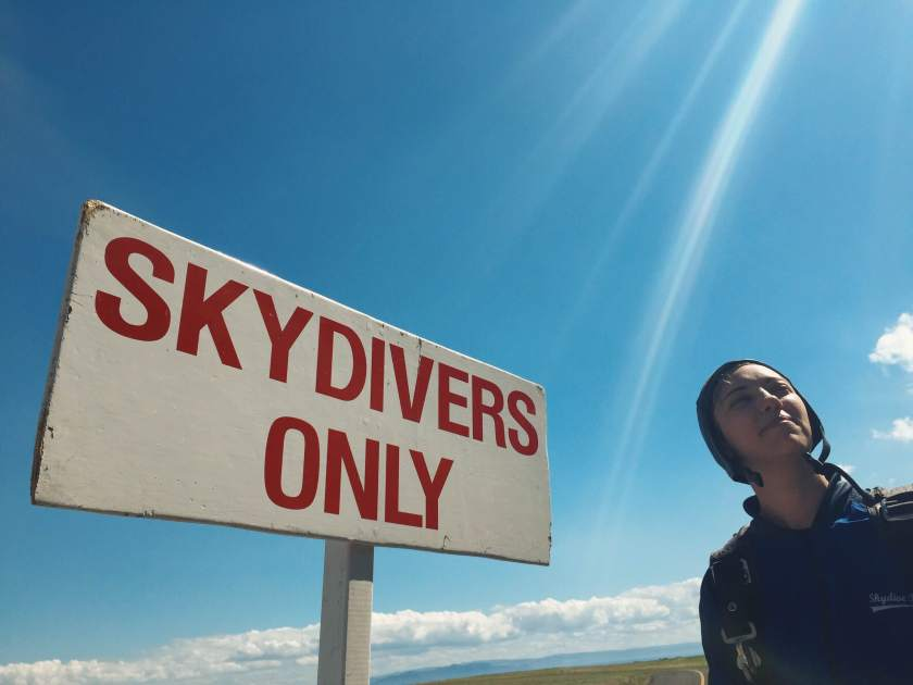 skydivers only